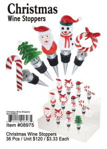 Christmas Wine Stoppers Wholesale