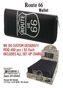 Route 66 Wallet Wholesale