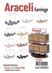 Araceli Earrings ON CLEARANCE