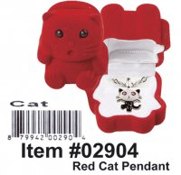 Cuties Red Cat Pendant Wholesale