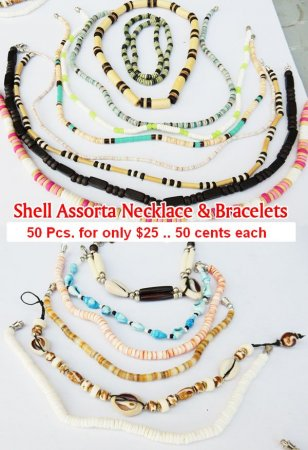 Shell Assorta Nck Brc NOW ON CLEARANCE