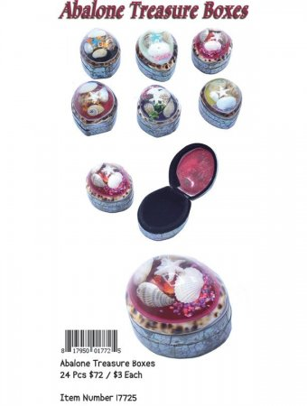 Abalone Treasure Boxes Wholesale