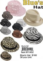 Blues Hats Wholesale
