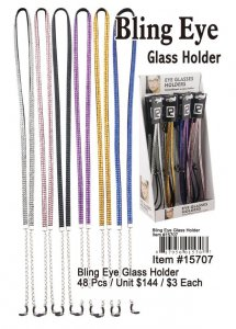 Wholesale Bling Eye Glass Holder