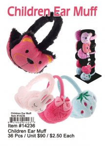 Childrenes Ear Muff Wholesale