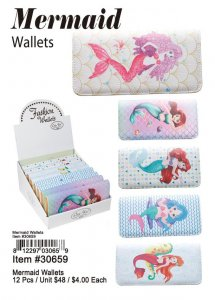 Mermaid Wallets Wholesale