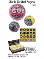 Glow In The Dark Surprise Ball Wholesale
