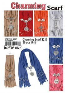 Charming Scarves Wholesale