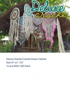 Deluxe Grande Crochet Dream Catcher