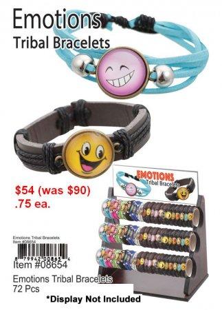 Emotions Tribal Bracelets NOW ON CLEARANCE