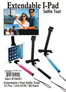 Extandable Ipadselfie Tool NOW ON CLEARANCE