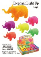 Elephant Lightup Toys Wholesale