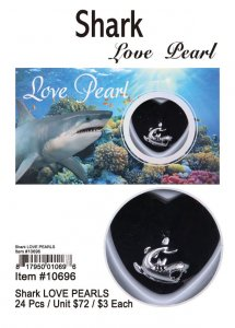 Love Pearl Sea Life Sharks Wholesale