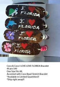 Florida Coco Bracelets Wholesale