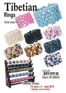 Tibetian Rings NOW ON CLEARANCE
