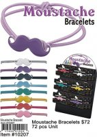 Mustache Bracelets NOW ON CLEARANCE