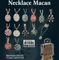 Wholesale Necklace Mecan kit (72 Pcs Unit)