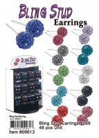 Wholesale Bling Stud Earrings
