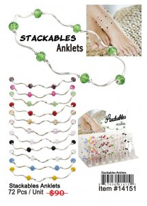 Stackable Anklets Wholesale