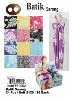 Batik Sarongs Wholesale