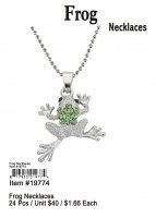 Frog Necklaces Wholesale