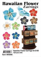 Wholesale Hawaiin Flower Earrings