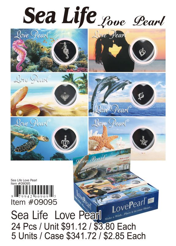 Sea Life Love Pearl - 24 Pieces Unit