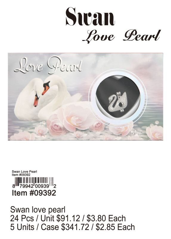 Swan Love Pearl - 24 Pieces Unit