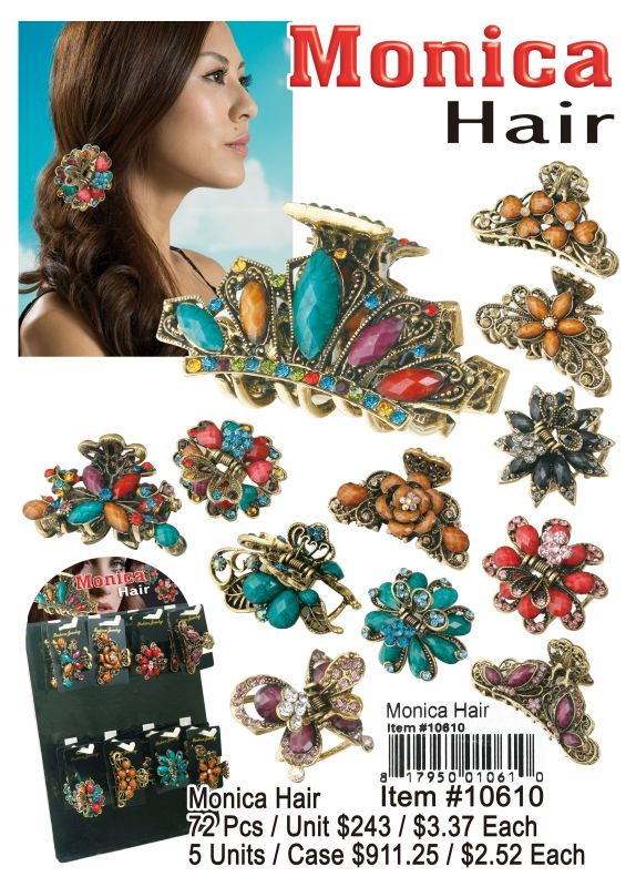 Monica Hair - 72 Pieces Unit