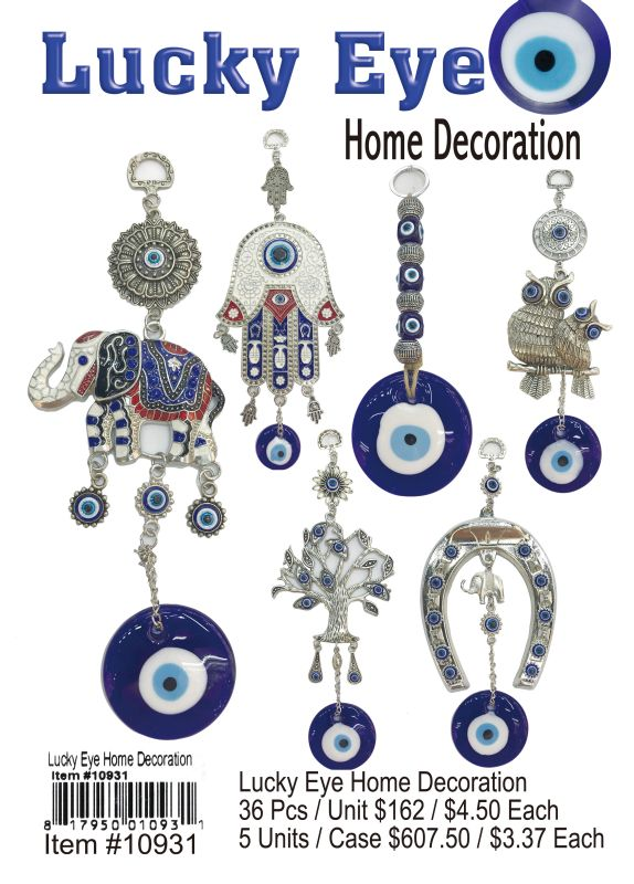 Lucky Eye Home Decoration - 36 Pieces Unit