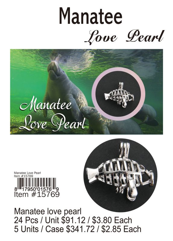 Manatee Love Pearl - 24 Pieces Unit