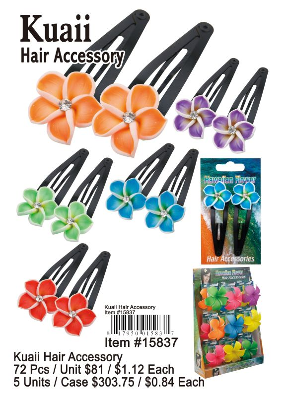 Kuaii Hair Accessory - 72 Pieces Unit