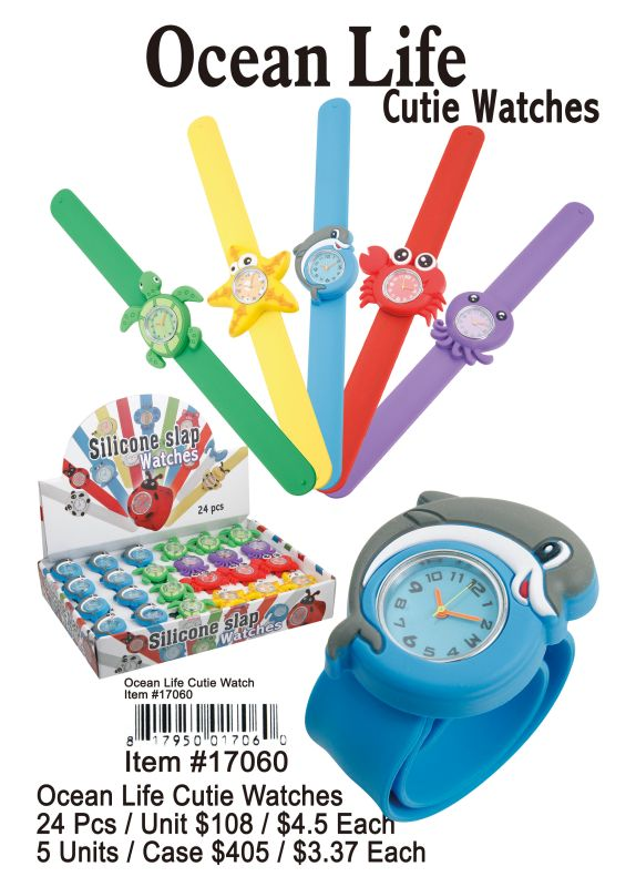 Ocean Life Cutie Watches - 24 Pieces Unit