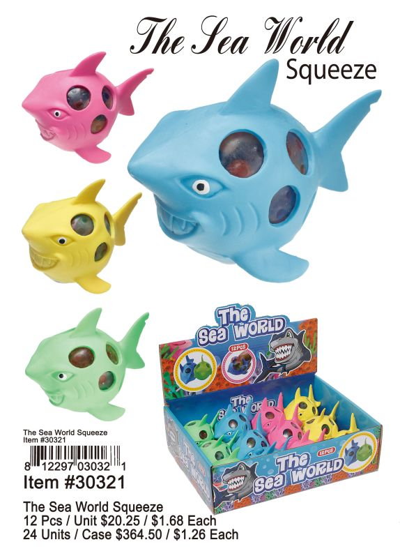 The Sea World Squeeze - 12 Pieces Unit