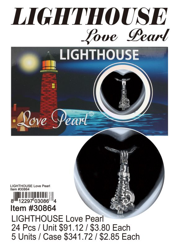 Lighthouse Love Pearl - 24 Pieces Unit