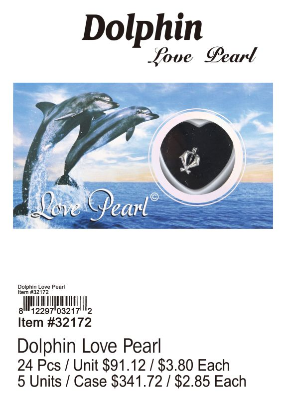 Dolphin Love Pearl - 24 Pieces Unit