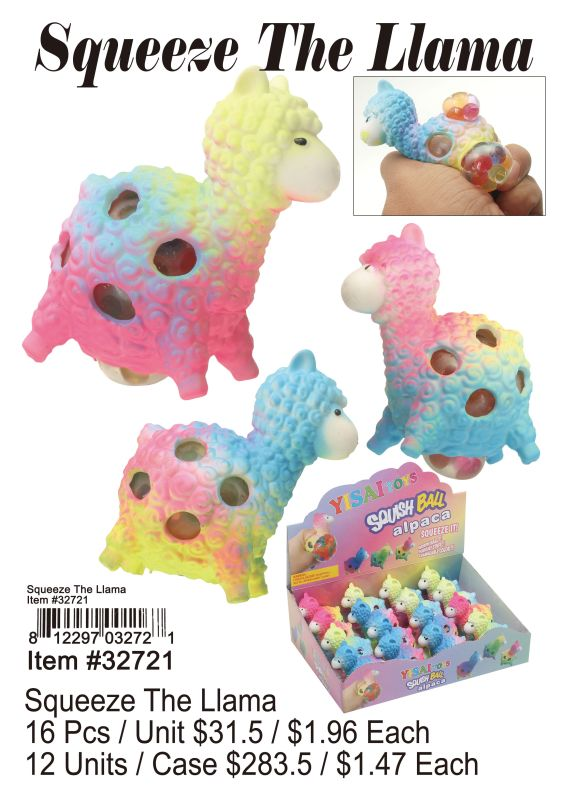 Squeeze The Llama - 16 Pieces Unit