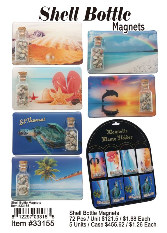 Shell Bottle Magnets Wholesale