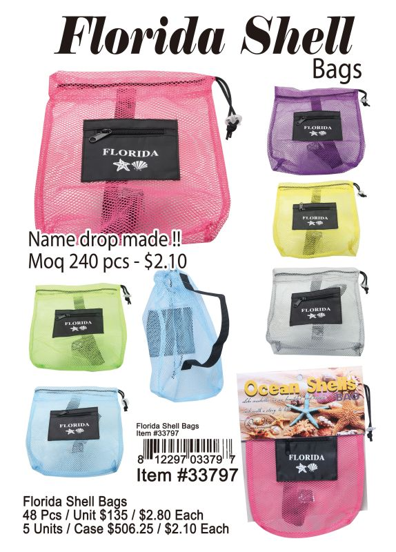 Florida Shell Bags Wholesale