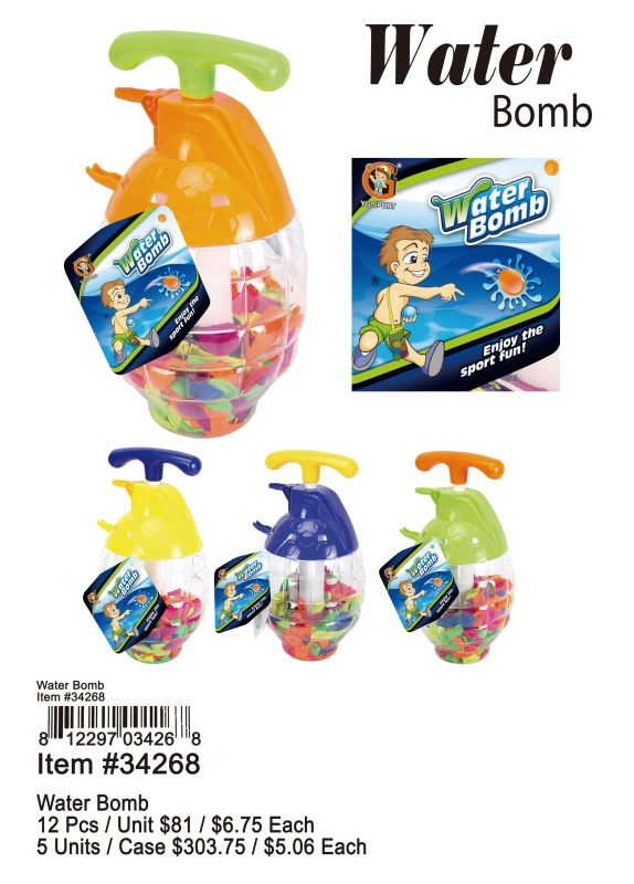 Water Bomb - 12 Pieces Unit