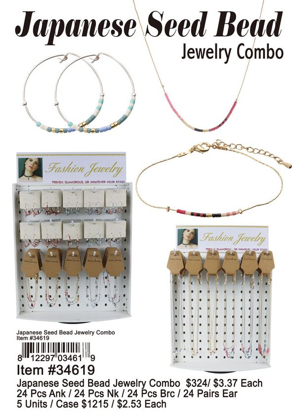 Japanese Seed Bead Jewelry Combo Wholesale