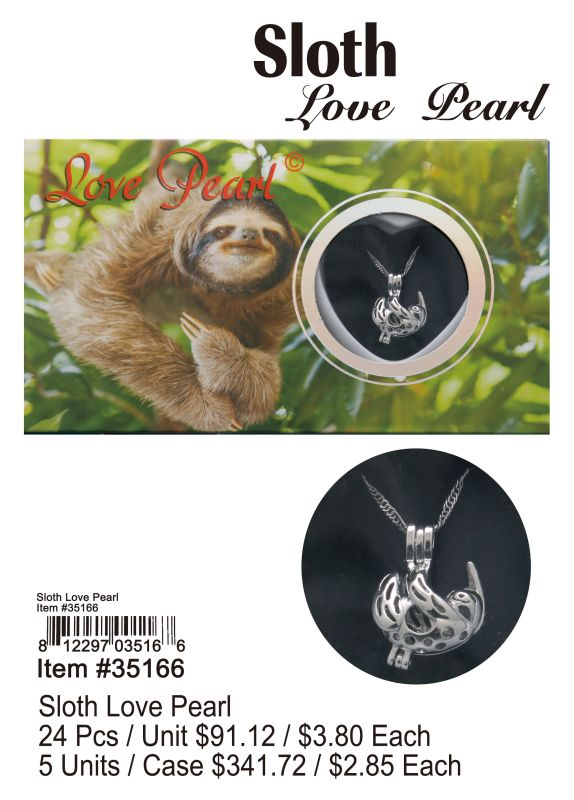 Sloth Love Pearl Wholesale