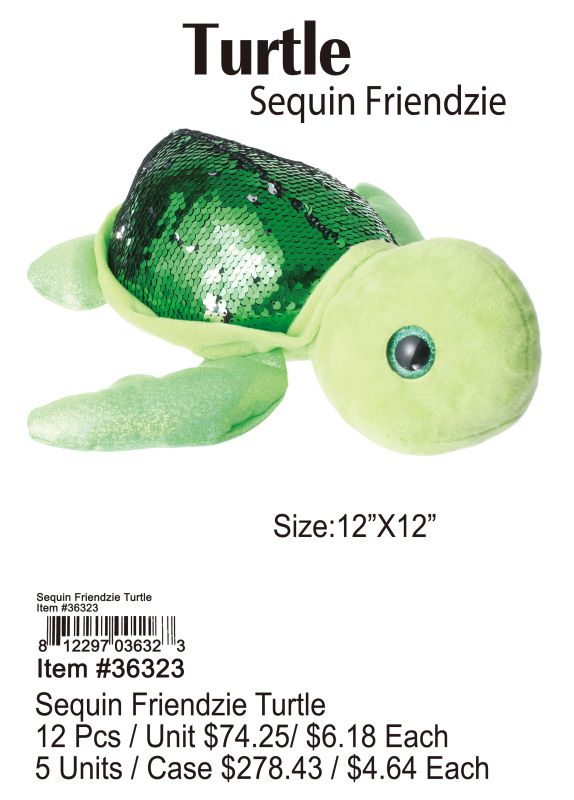 Sequin Friendzie Turtle Wholesale