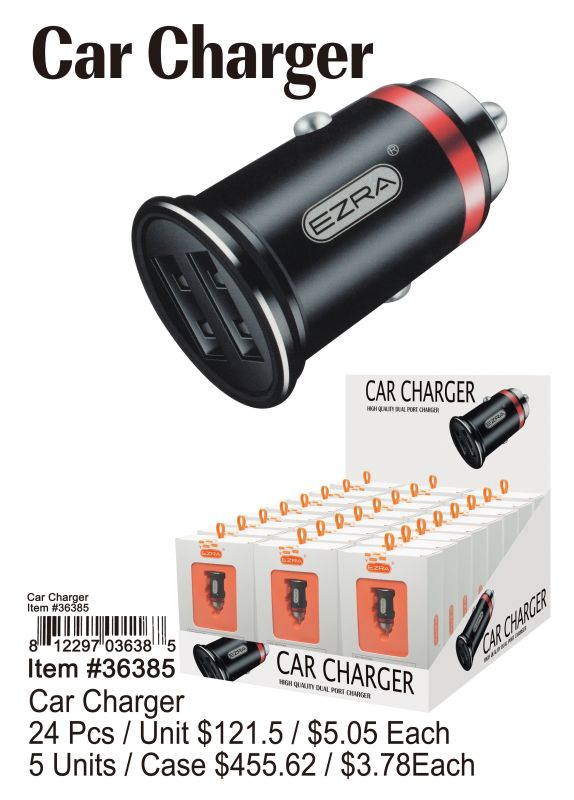 Car Charger - 24 Pieces Unit