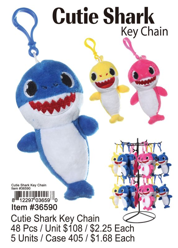 Cutie Shark Key Chain Wholesale