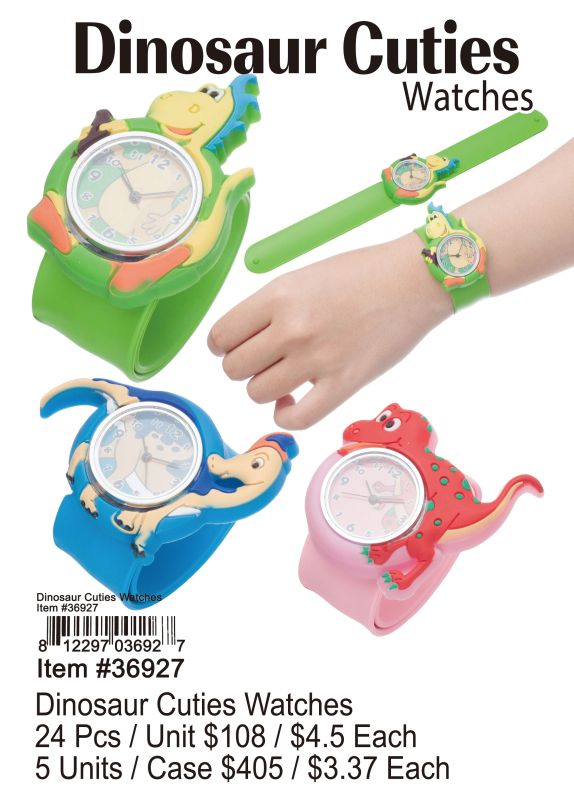 Dinosaur Cuties Watches - 24 Pieces Unit