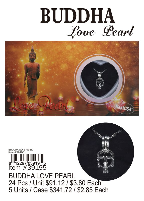 Buddha Love Pearl - 24 Pieces Unit