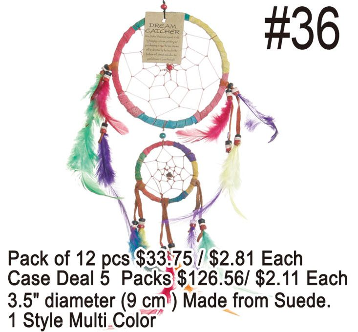 Dreamcatchers #36 - 12 Pieces Unit