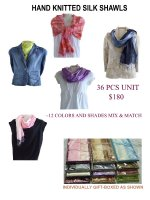 Wholesale Silk Shawls