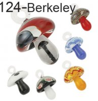 Wholesale California Mushroom Pendants #124 - BOXED